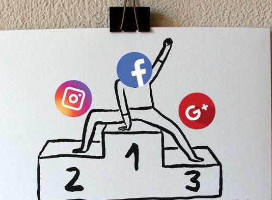 redes sociales más usadas para el marketing