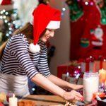 Negocios fugaces de navidad comida para las fiestas