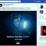 Publicaciones en redes sociales