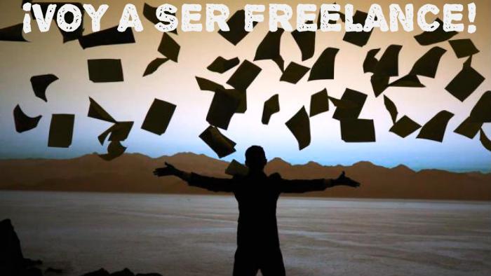 Voy a ser freelance