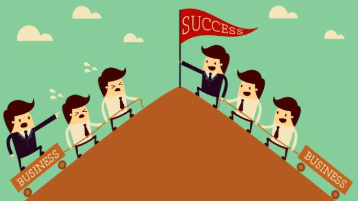 Todos somos iguales para llegar al éxito