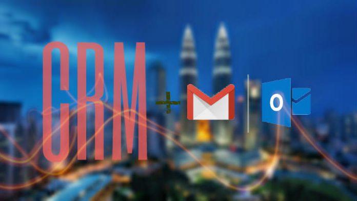 CRM con un software de email