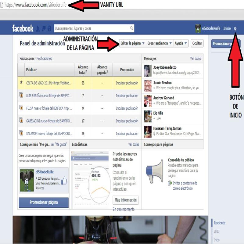 Fanpage para vender en Facebook