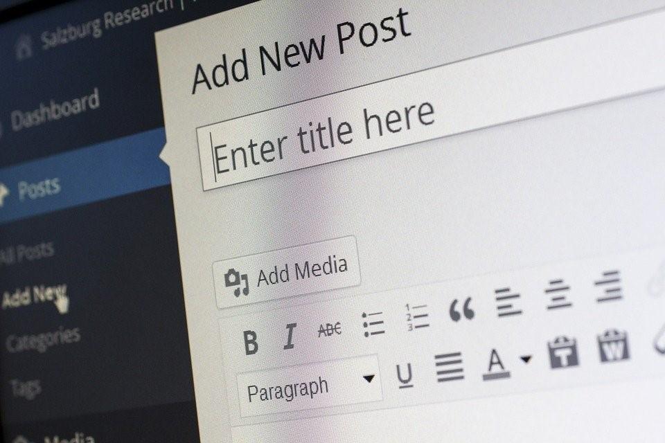 crear un blog de WordPress para ventas online